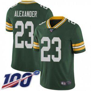Packers Jaire Alexander 100th Season Jersey